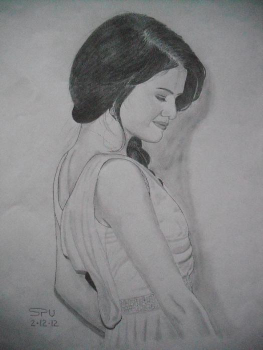 Selena Gomez by SUAZ64